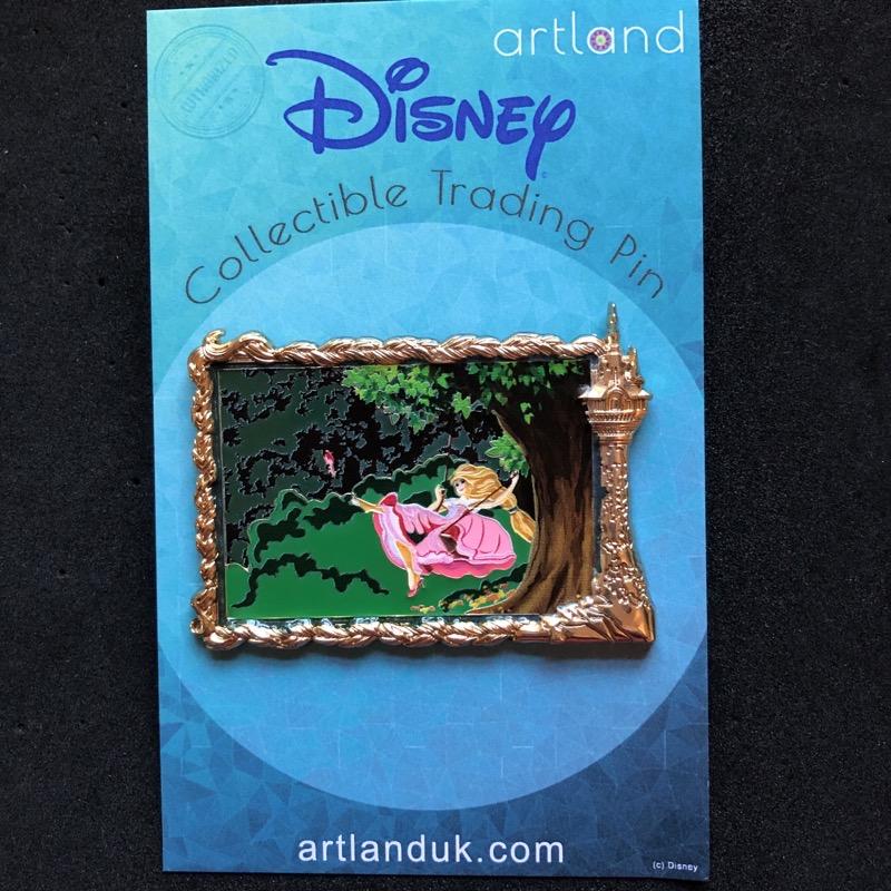 Rapunzel's The Swing LE 100 ArtLand Disney Pin