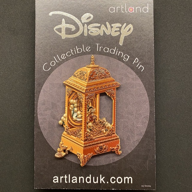 Scrooge Music Box LE 125 ArtLand Disney Pin