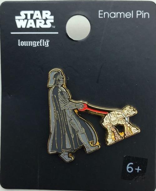 Star Wars Darth Vader Walking AT-AT BoxLunch Pin