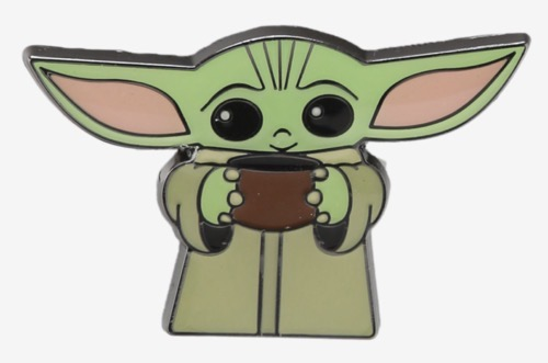 Star Wars The Child with Soup BoxLunch Pin