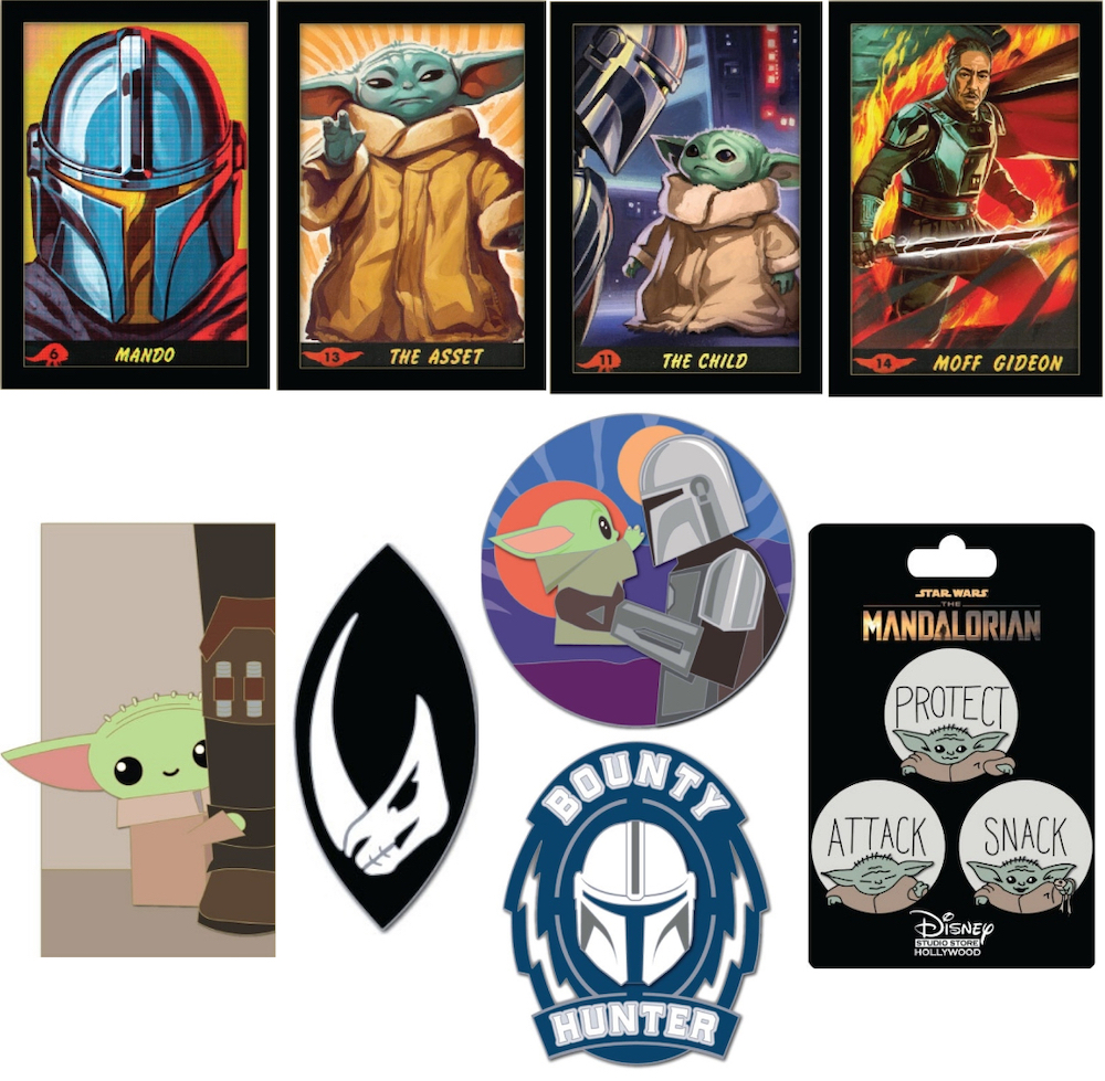 Star Wars The Mandalorian DSSH Pins