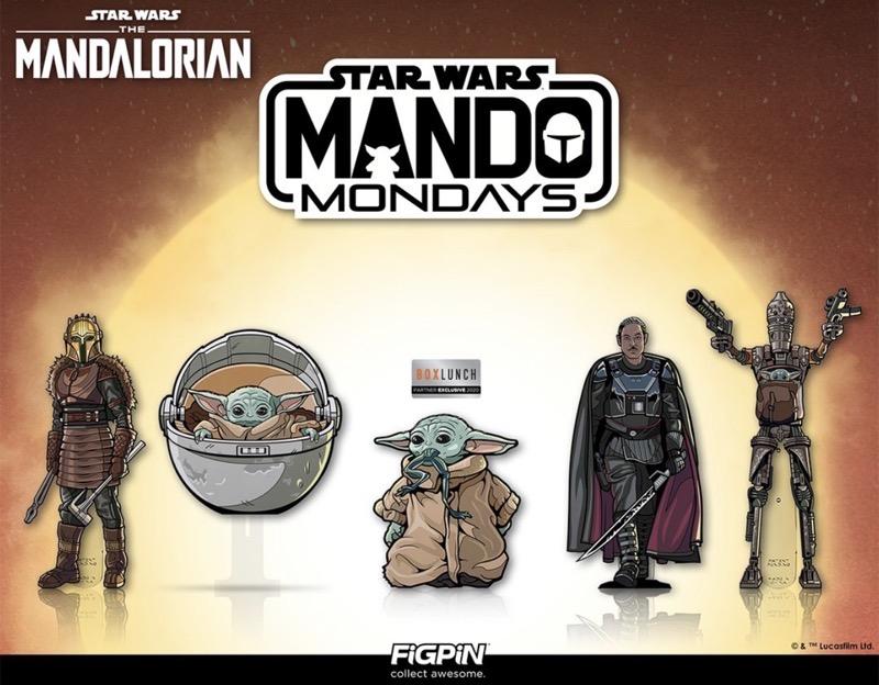 Star Wars The Mandalorian FiGPiN Wave 2 Pins