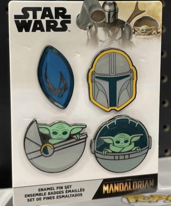 Star Wars: The Mandalorian Pin Set at Target