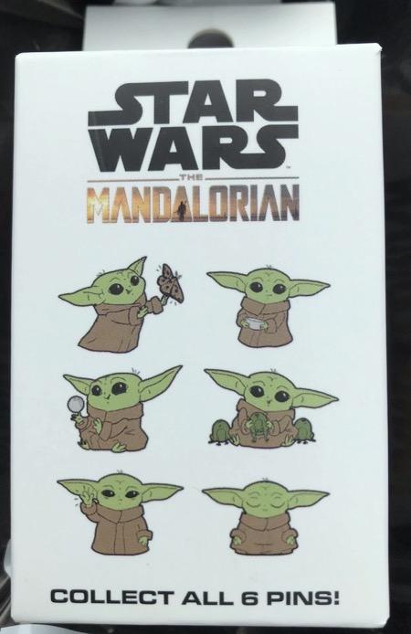 Star Wars The Mandalorian The Child Blind Box Pins