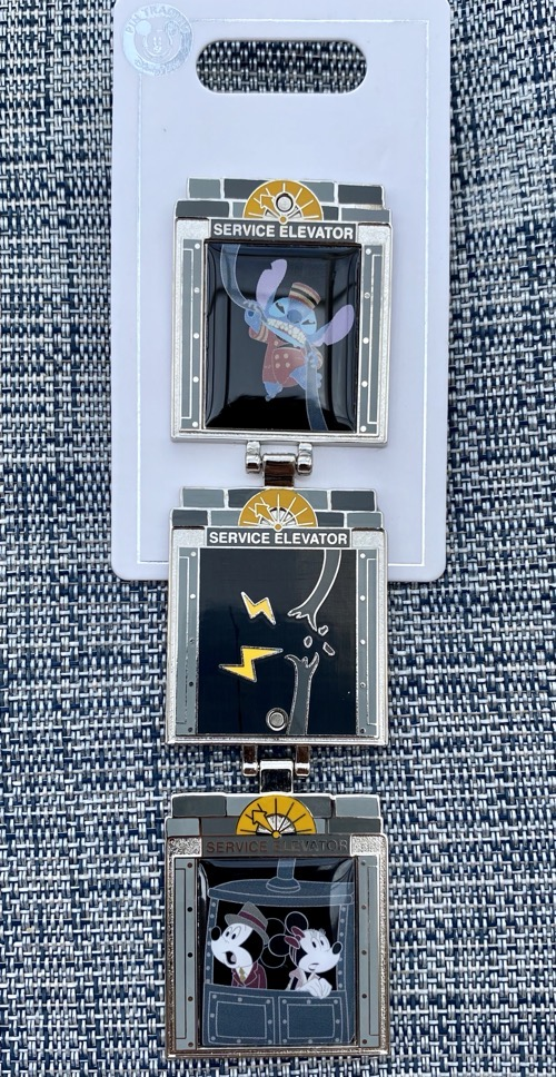 Stitch Hollywood Tower Hotel 2020 Disney Hinged Pin