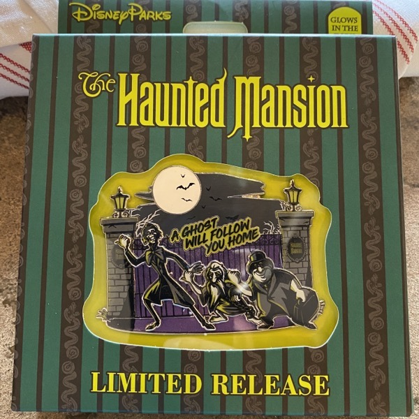 The Haunted Mansion 2020 Mini Jumbo Pin