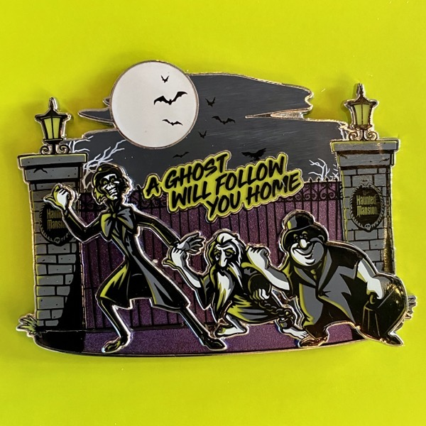 The Haunted Mansion Hitchhiking Ghosts Mini Jumbo Pin