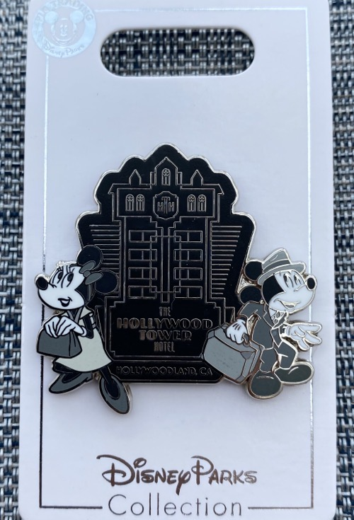 The Hollywood Tower Hotel Pin