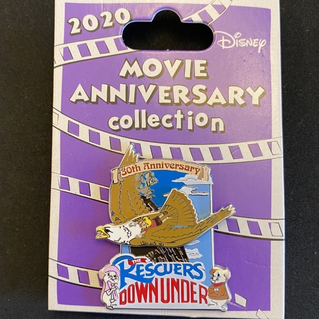 The Rescuers Down Under 30th Anniversary Cast Member Pin