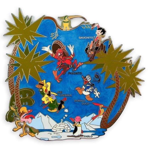 The Three Caballeros 75th Anniversary shopDisney Pin The Three Caballeros 75th Anniversary shopDisney Pin