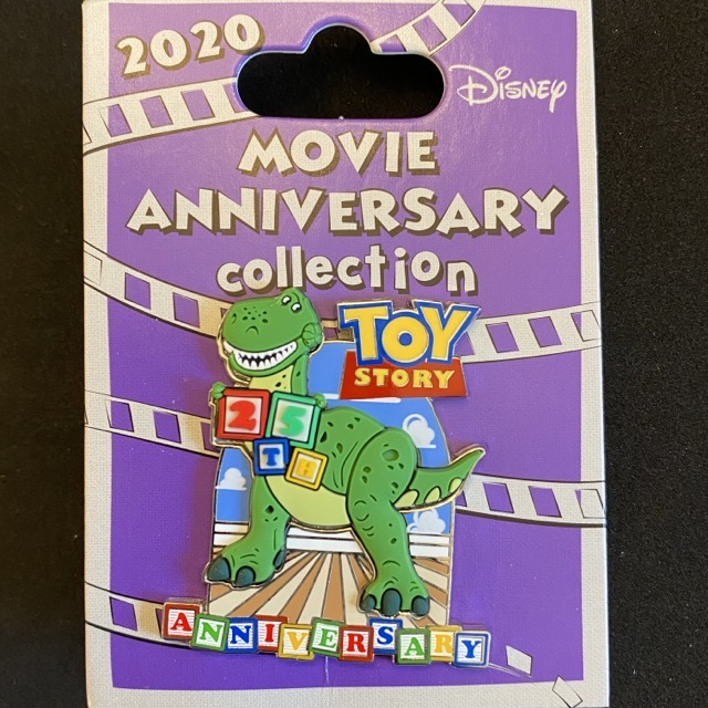 Toy Story 25th Anniversary Cast Member Pin