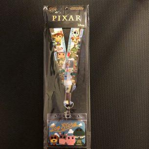 Toy Story Loungefly Cardholder Lanyard Pin Set