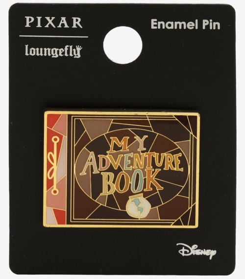 UP My Adventure Book BoxLunch Disney Pin