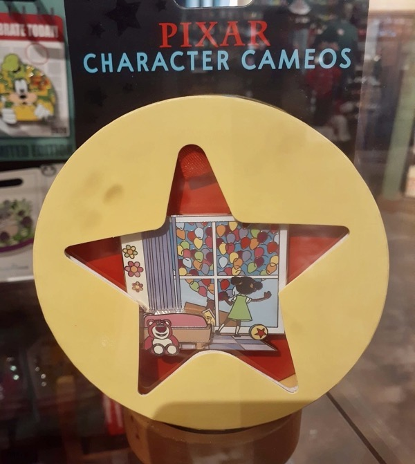 UP Pixar Character Cameos Pin