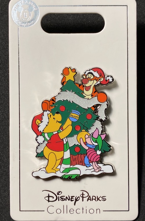 Winnie the Pooh Christmas Tree Holiday 2020 Disney Pin