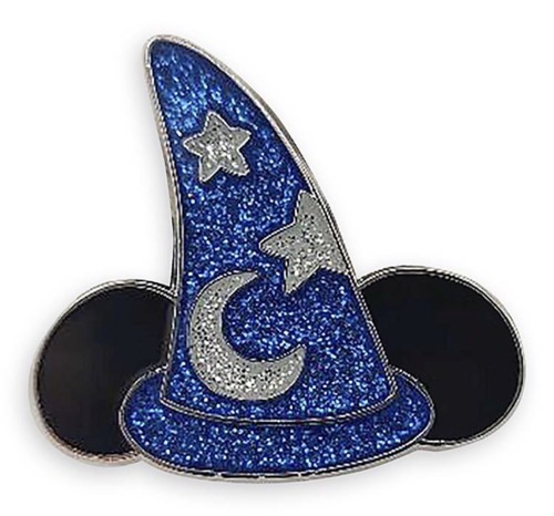 Wishes Come True Blue - Sorcerer Hat Pin