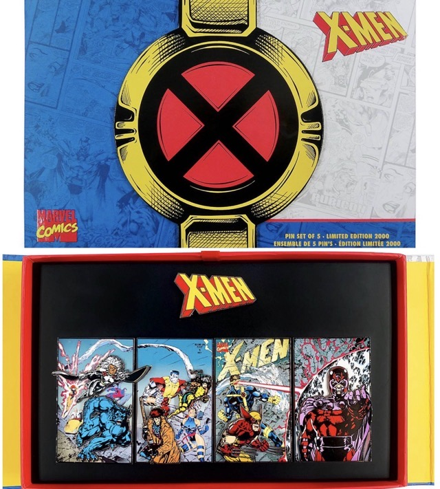 X-Men Limited Edition Pin Set at shopDisney