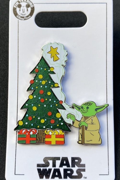 Yoda Christmas Tree Holiday 2020 Disney Pin