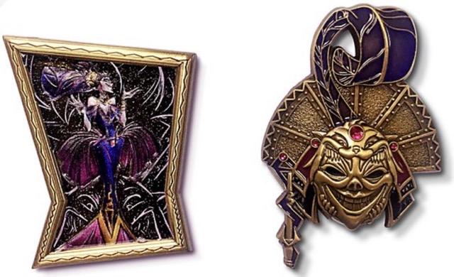 Yzma Disney Designer Collection Midnight Masquerade Pin Set
