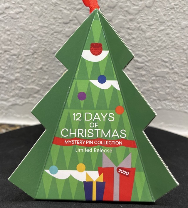 12 Days of Christmas Mystery Disney Pin Collection