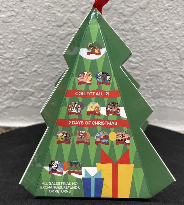 12 Days of Christmas Mystery Disney Pins