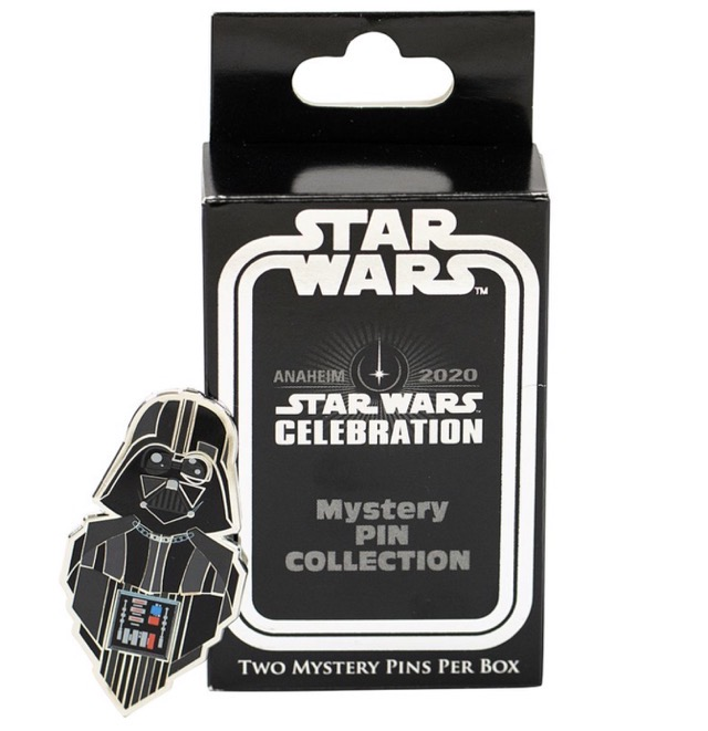2020 Star Wars Celebration Pin Trading Collection Mystery 2-Packs