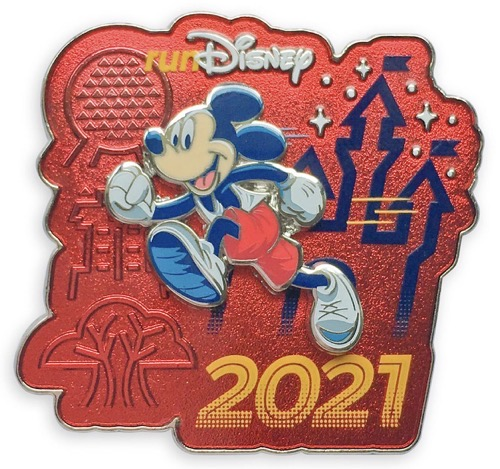 2021 Mickey Mouse runDisney Pin