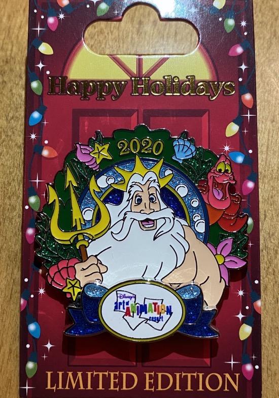 Art of Animation Christmas Resort 2020 Disney Pin
