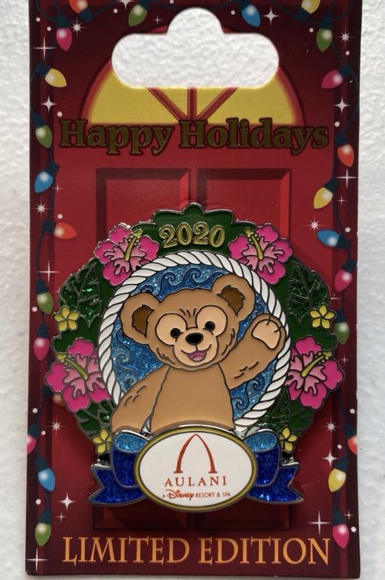Aulani Christmas Resort 2020 Disney Pin