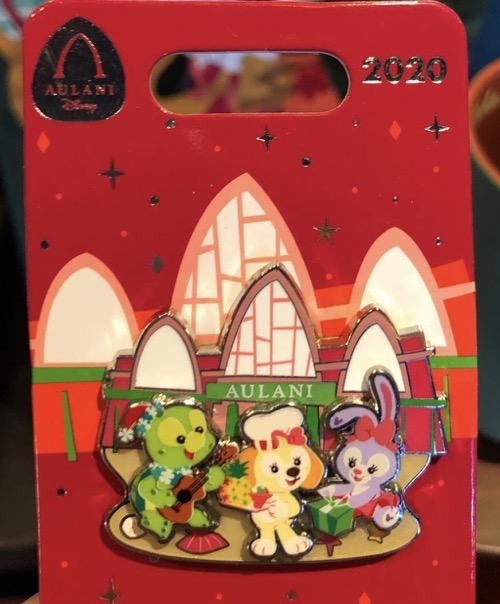 Aulani Holiday 2020 Disney Pin