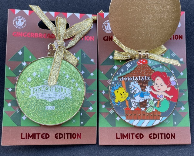 Beach Club Resort Gingerbread 2020 Disney Pin