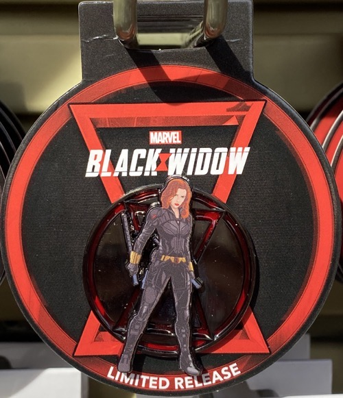 Black Widow Disney Parks Pin