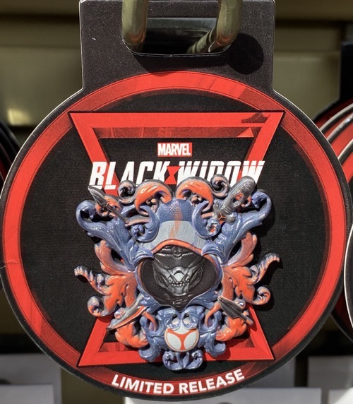 Black Widow Emblem Disney Pin
