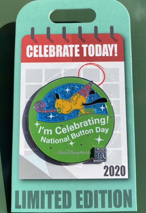 Button Day – Celebrate Today Pin