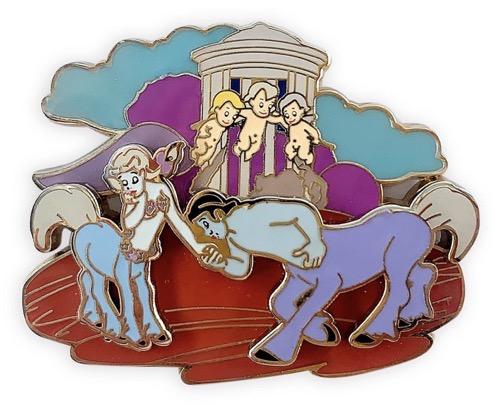 Centaur and Cherub Fantasia 80th Anniversary Pin at shopDisney