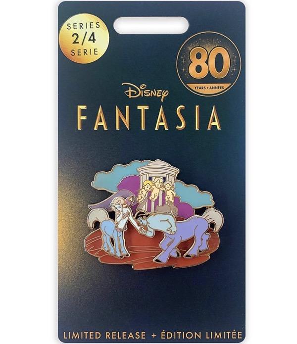 Centaur and Cherub Fantasia 80th Anniversary shopDisney Pin