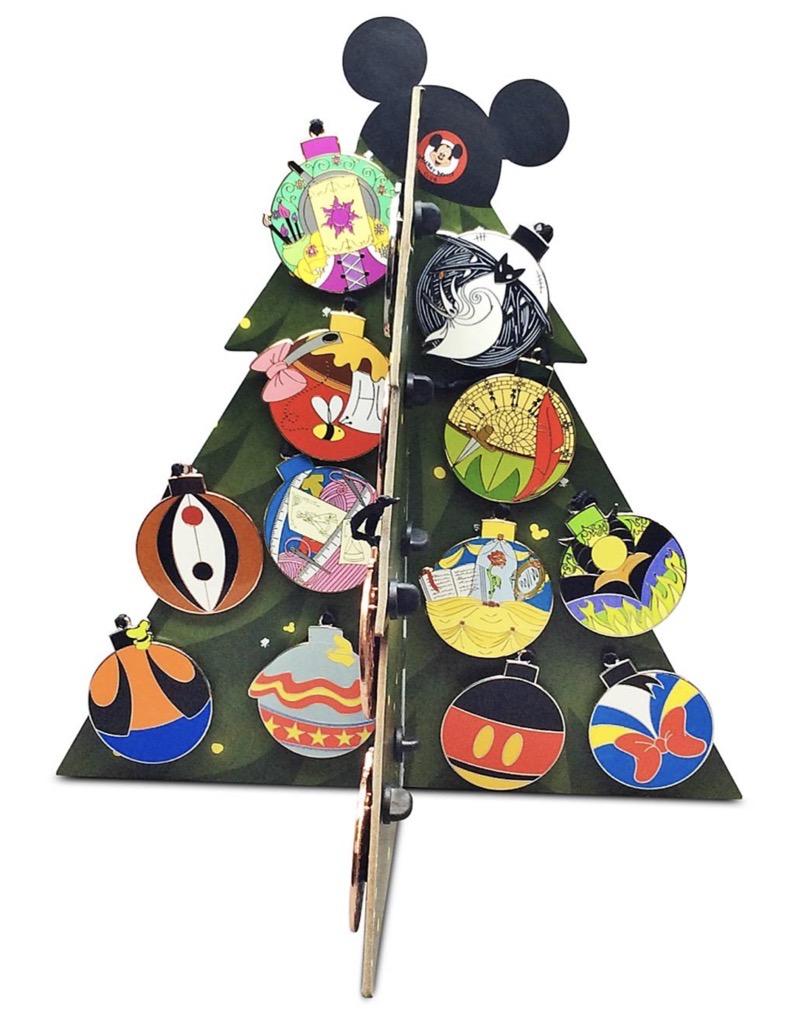 Christmas Tree Display - World of Disney Holiday 2020 Advent Calendar Pins
