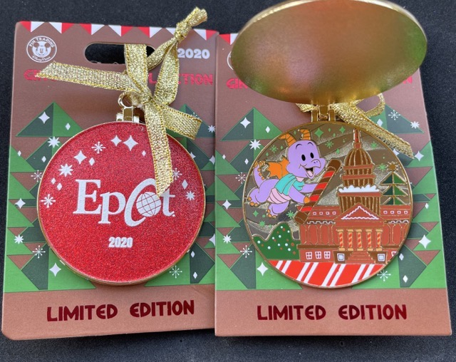EPCOT Gingerbread 2020 Disney Pin