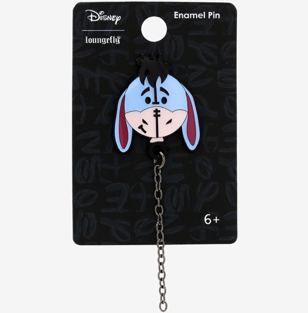 Eeyore Chain Pin at Hot Topic