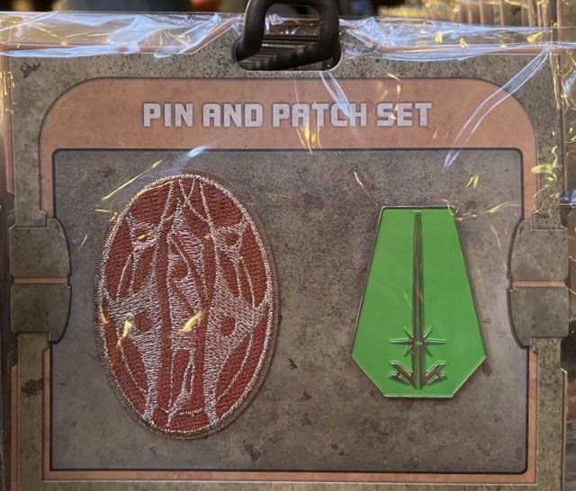 Elemental Nature Star Wars Galaxy's Edge Pin and Patch Set