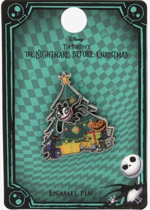 Flying Scary Teddy Nightmare Before Christmas Hot Topic Disney Pin