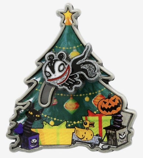 Flying Scary Teddy Nightmare Before Christmas Hot Topic Pin