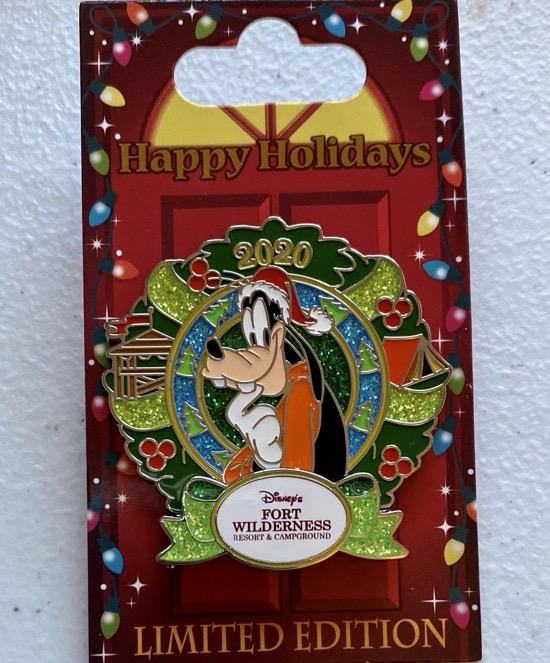 Fort Wilderness Christmas Resort 2020 Disney Pin