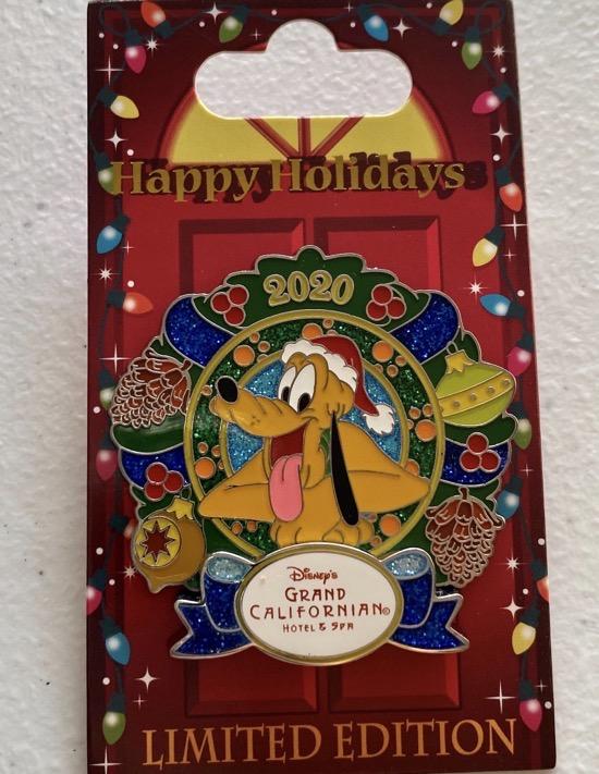 Grand Californian Christmas Resort 2020 Disney Pin