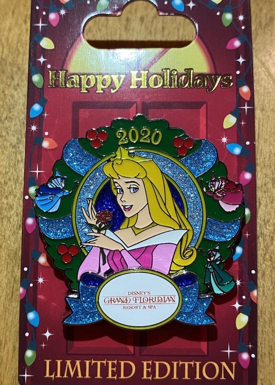 Grand Floridian Christmas Resort 2020 Disney Pin