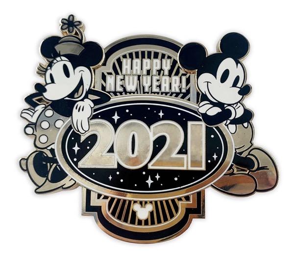 Happy New Year 2021 shopDisney Pin
