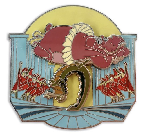 Hyacinth Hippo and Ben Ali-Gator Fantasia 80th Anniversary Pin at shopDisney