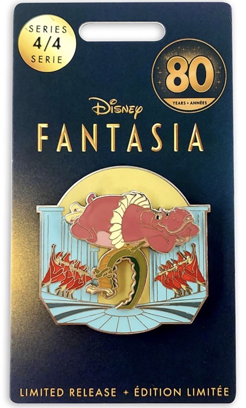 Hyacinth Hippo and Ben Ali-Gator Fantasia 80th Anniversary shopDisney Pin