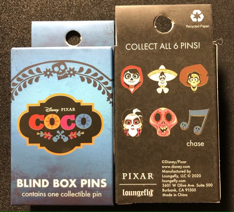 Coco Loungefly Blind Box Pin