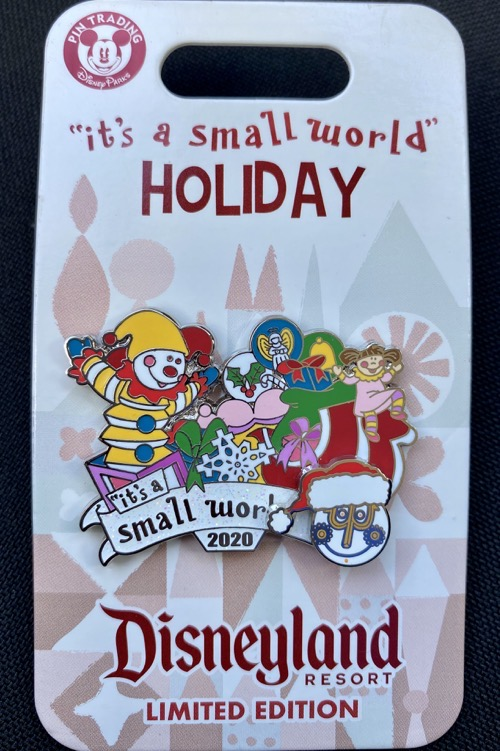it's a small world Holiday 2020 Pin